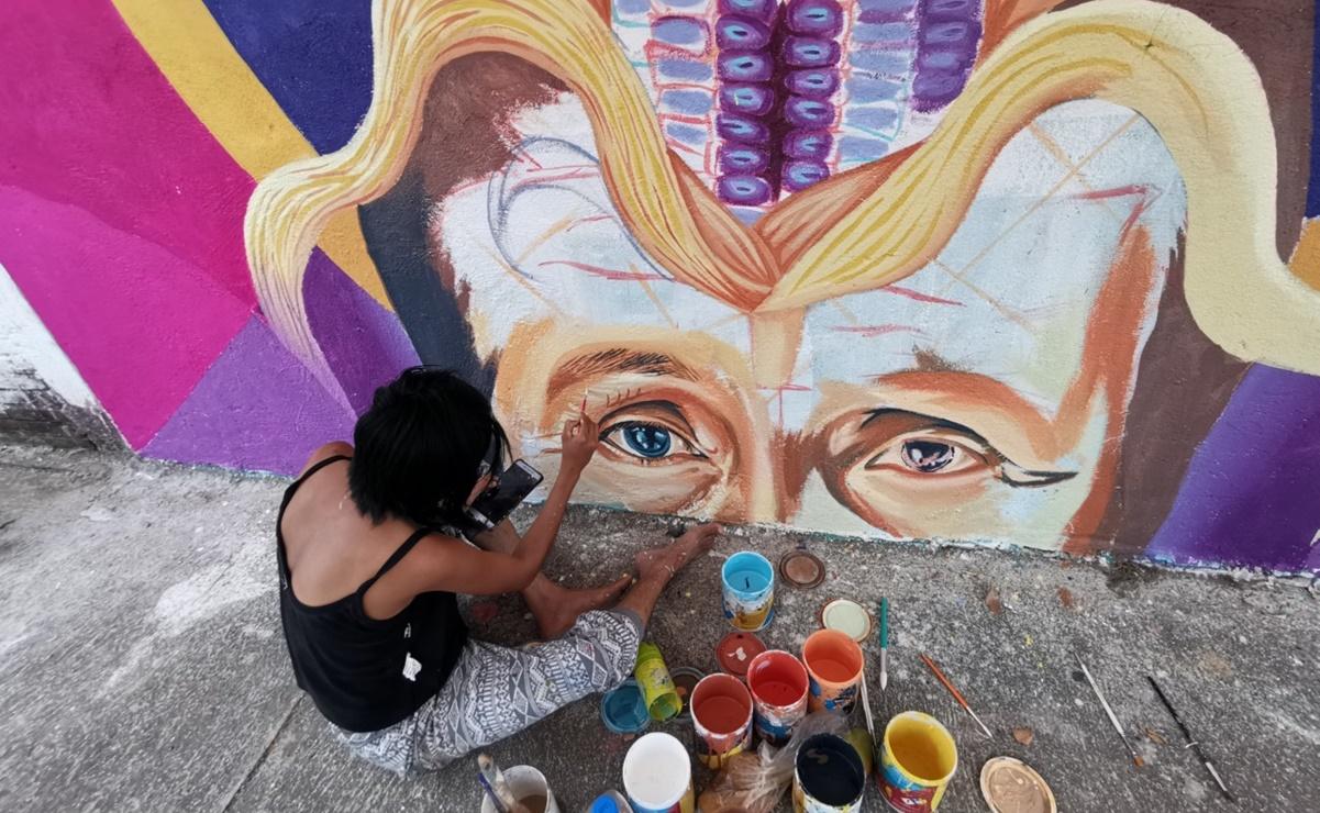 Convierten mujeres arte en un medio para visibilizar a la comunidad lésbica del Istmo de Oaxaca