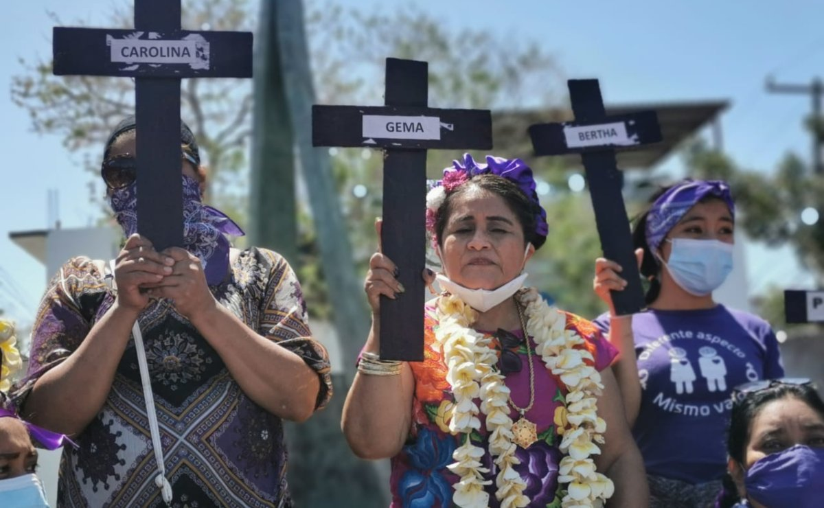 A 3 años de la Alerta de Violencia de Género, han asesinado a 334 niñas y mujeres en Oaxaca: GES Mujer