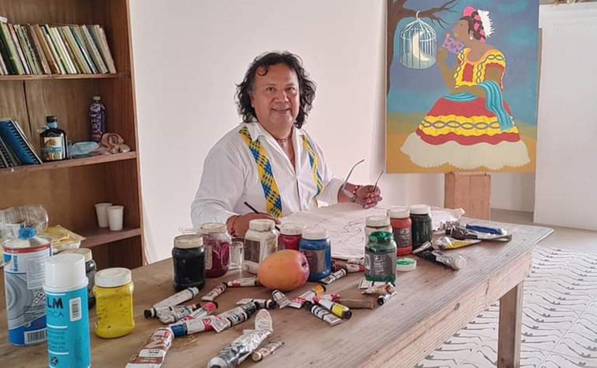 Muere el artista zapoteco Francisco Monterrosa, creador de una corriente pictórica en Oaxaca