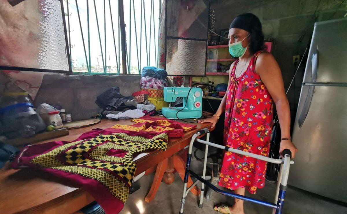 Yo fui la que perdió una pierna, reclama artesana de Oaxaca; le cobran 58 mil tras ser atropellada