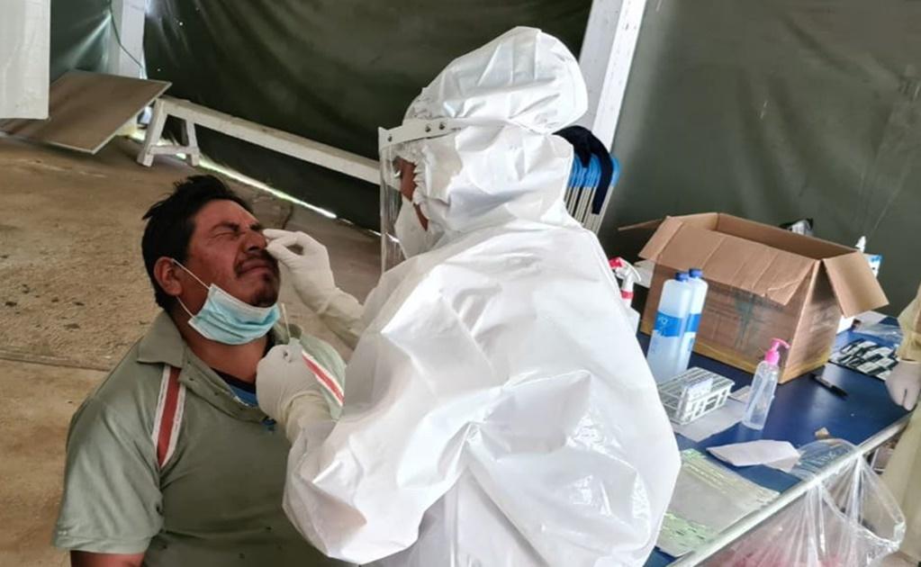 Reportan 600 nuevos contagios de Covid-19 en 105 municipios; hospitales están al 65.6%