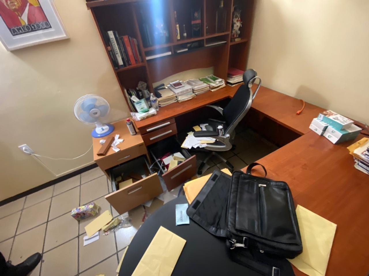 Denuncia el diputado local César Morales el allanamiento de sus oficinas en la ciudad de Oaxaca