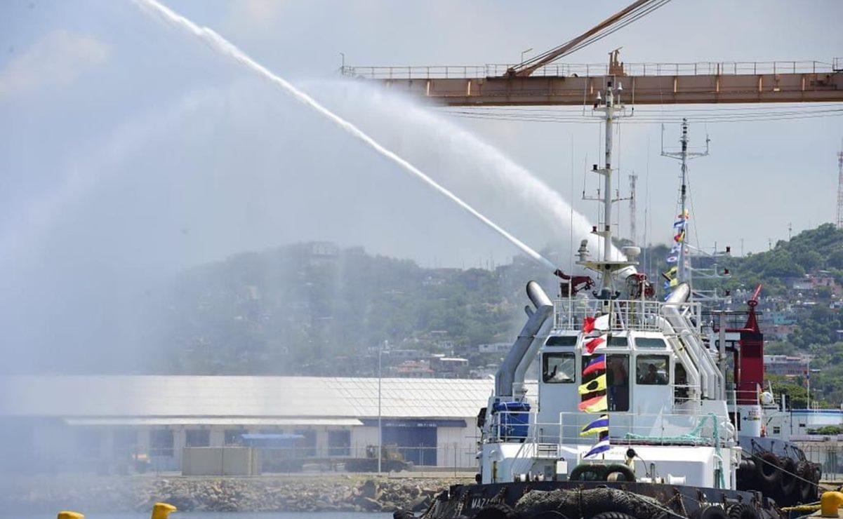 Da Semarnat aprobación ambiental para modernizar en 30 años puerto de Salina Cruz, Oaxaca