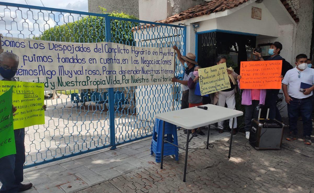 Rechazan comuneros de Ayutla disolución de mancomunidad con Tamazulápam; no fueron consultados, denuncian