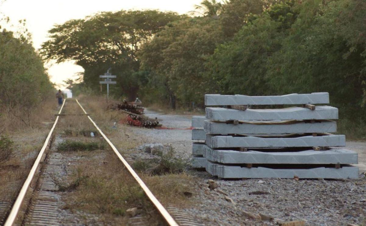 Se roban un tramo de riel de las vías del tren en Juchitán, Oaxaca; suspenderán corridas