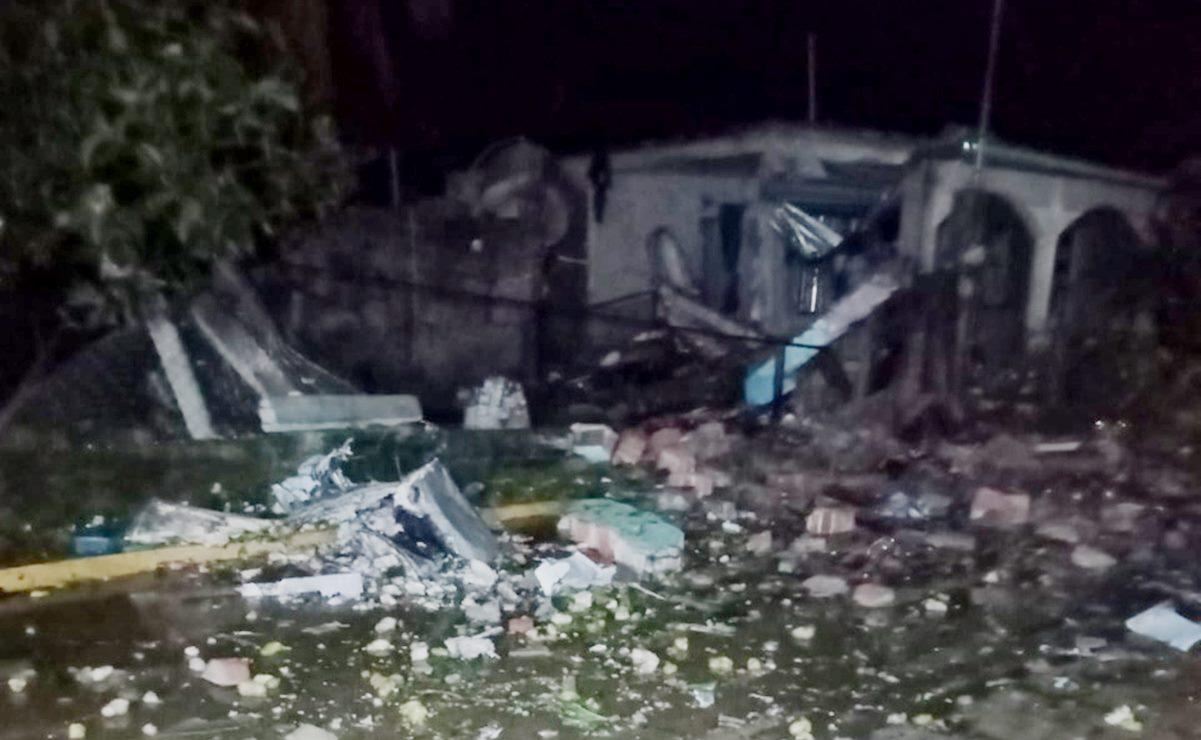 Explosión por pirotecnia en Costa de Oaxaca deja al menos 2 heridos y 5 casas dañadas