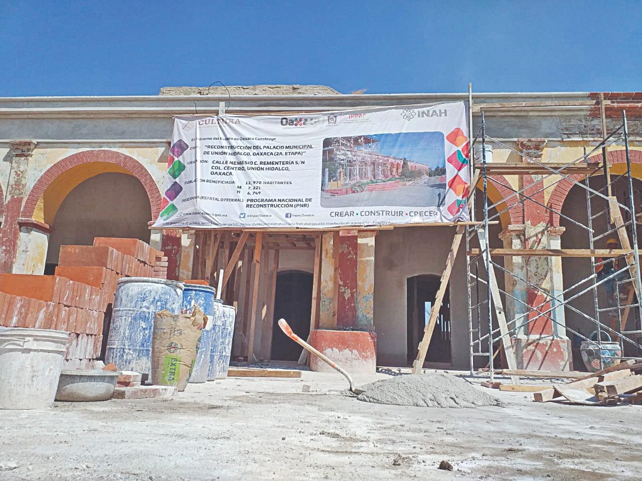 Sin lugar para el Grito. A 4 años del 7-S, palacios municipales del Istmo, aún sin fecha de reconstrucción