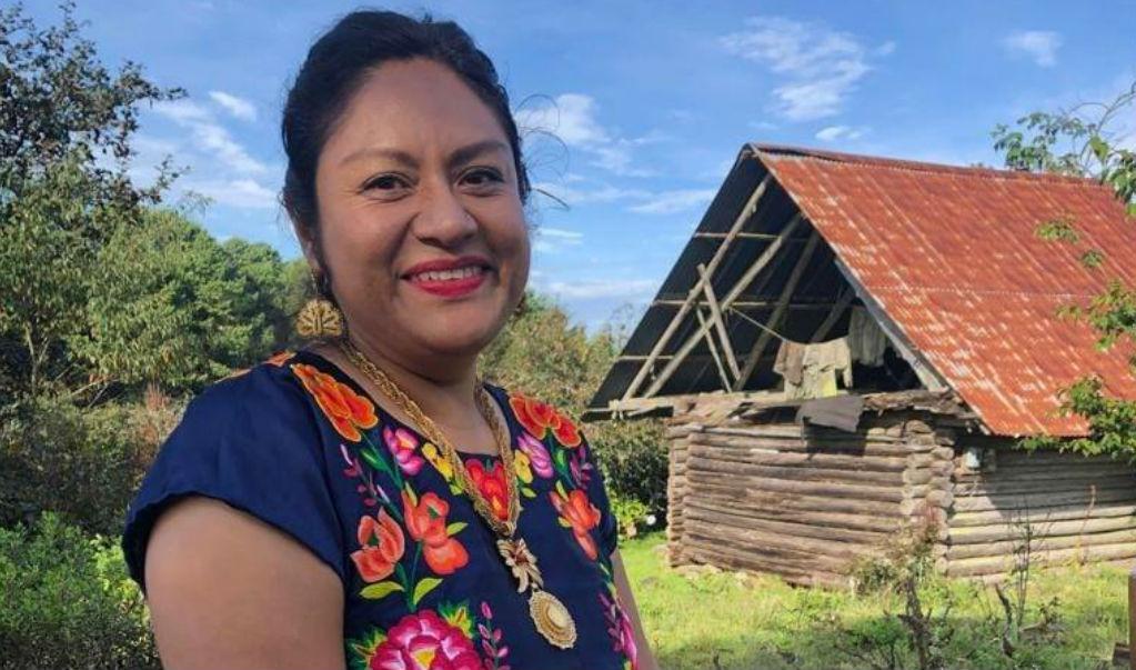 'La escultura Tlali no me representa', afirma la poeta zapoteca oaxaqueña Irma Pineda
