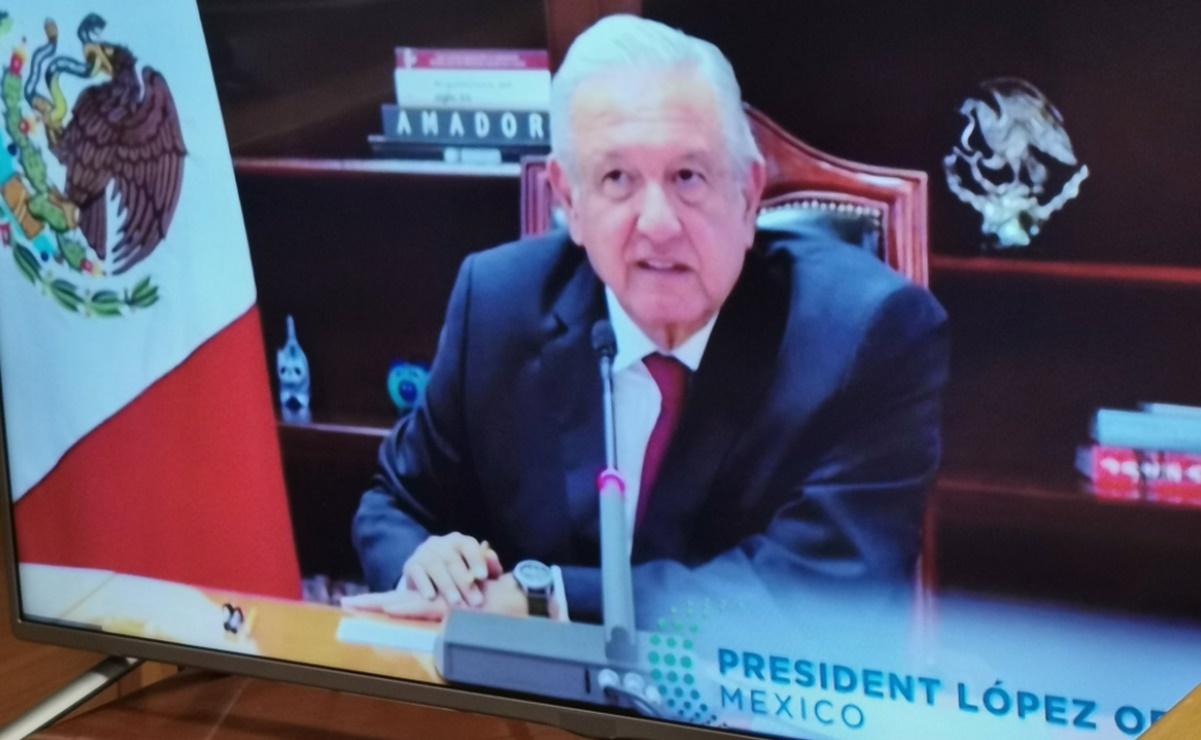 AMLO participa en Foro sobre Energía y Cambio Climático convocado por Joe Biden
