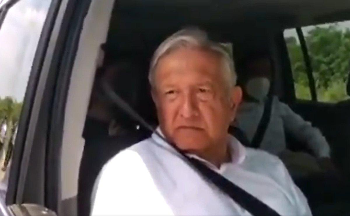 Llega AMLO a Oaxaca para supervisar CIIT y carretera; 'tocaremos temas de Salud', adelanta Murat
