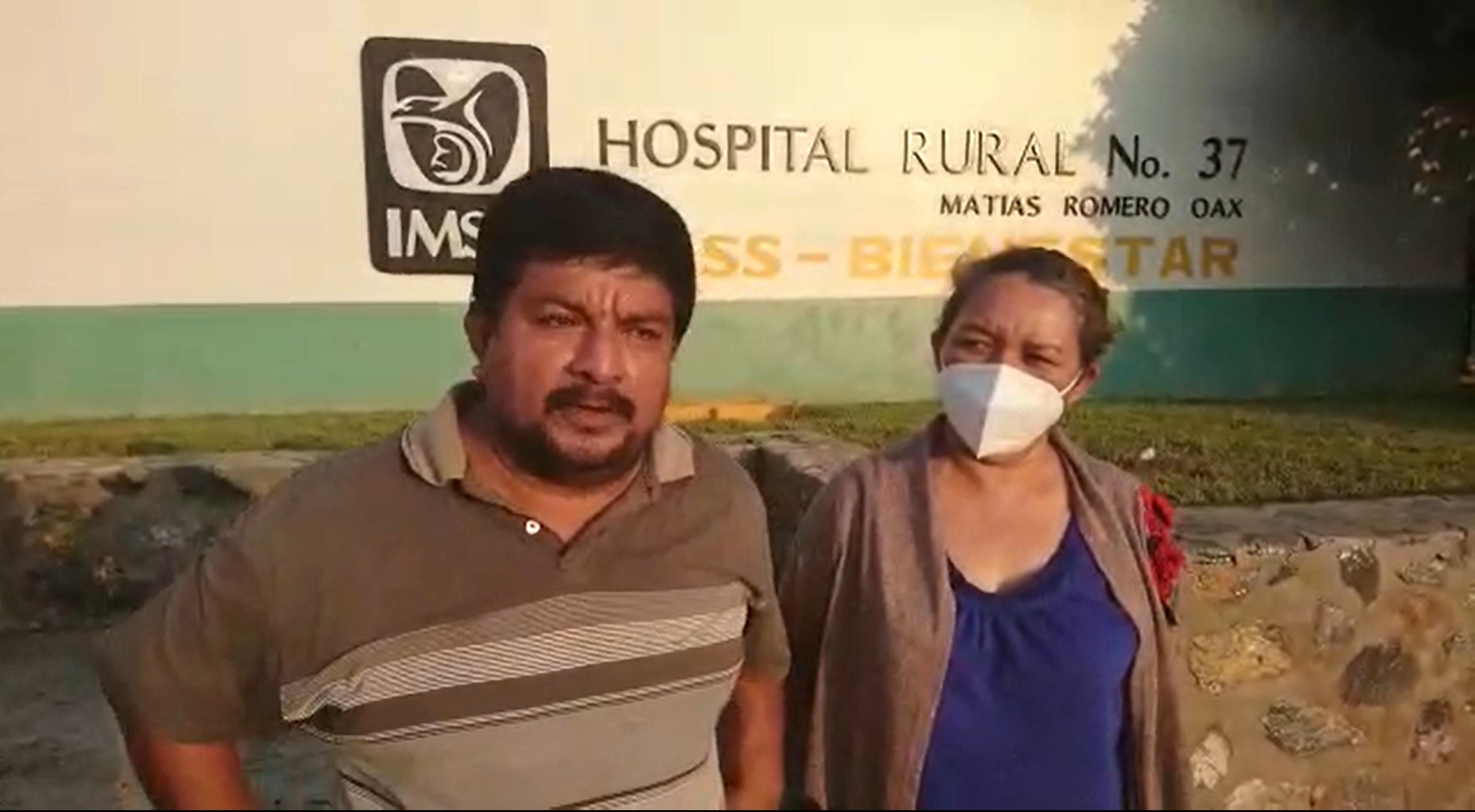 Piden ayuda para bebé no aceptada en Hospital de la Niñez Oaxaqueña; anuncian bloqueo carretero