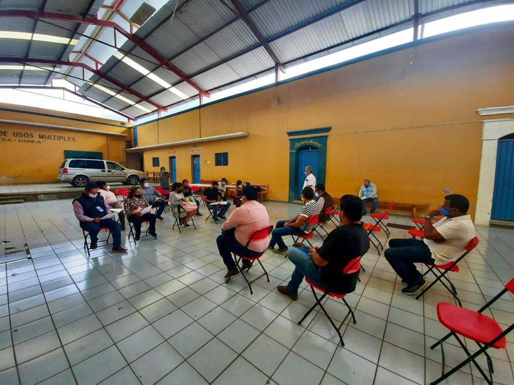 Concilia Secretaría General de Gobierno de Oaxaca conflicto social en fraccionamiento de Tlacolula