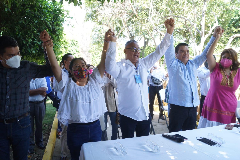 Confirma Fuerza por México a Chente Castellanos como candidato en elecciones extraordinarias de Xoxocotlán, Oaxaca