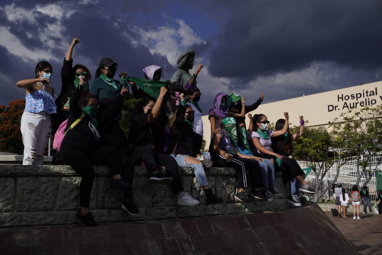 """""""Queremos que mujeres sean libres de decidir, sin miedo"""": feministas de Oaxaca salen a la calle por el 28S"""