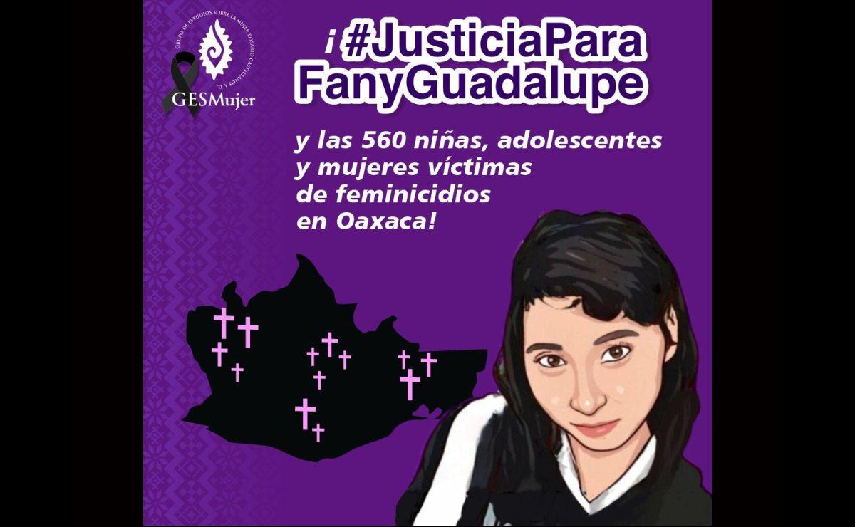 Negligencia de autoridades de Oaxaca derivó en presunto feminicidio de Fanny, señala GES Mujer