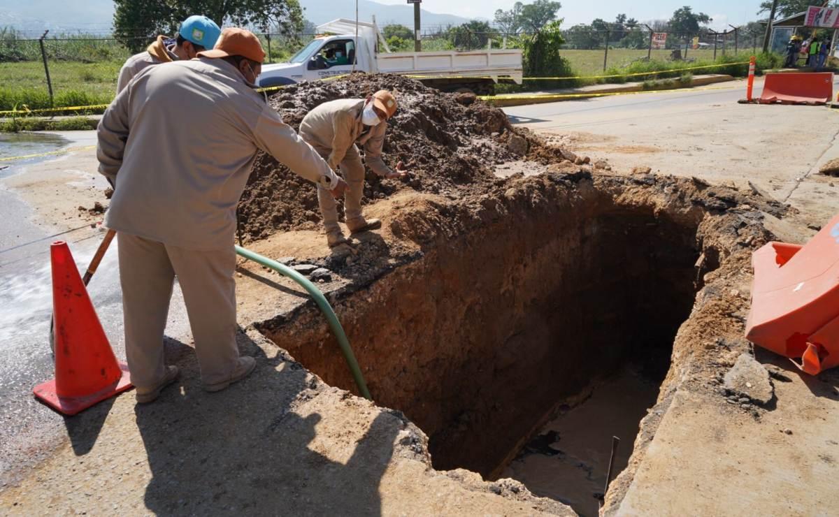 Por obras de CFE, dejan sin agua a la ciudad de Oaxaca y municipios conurbados por 15 días