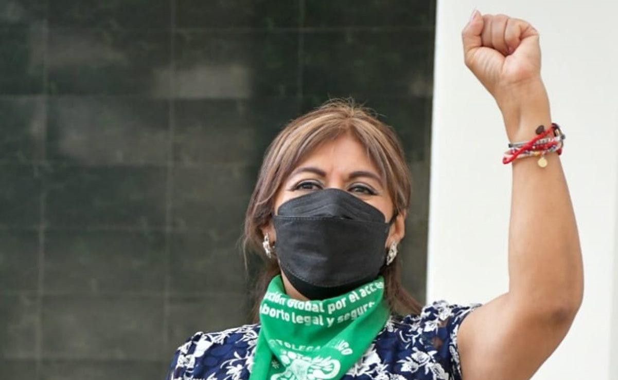 """Eliminan término 'fecundación' de Constitución de Oaxaca; """"Cerramos con broche de oro"""": Hilda Pérez Luis"""