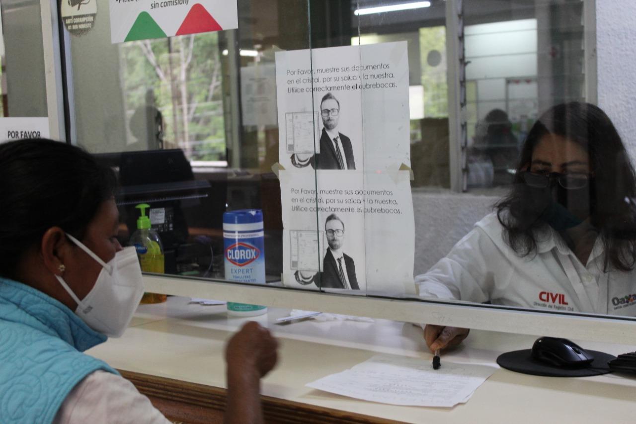 Investigación sobre corrupción y abusos en Registro Civil de Oaxaca fue entregada al Congreso, señala directora