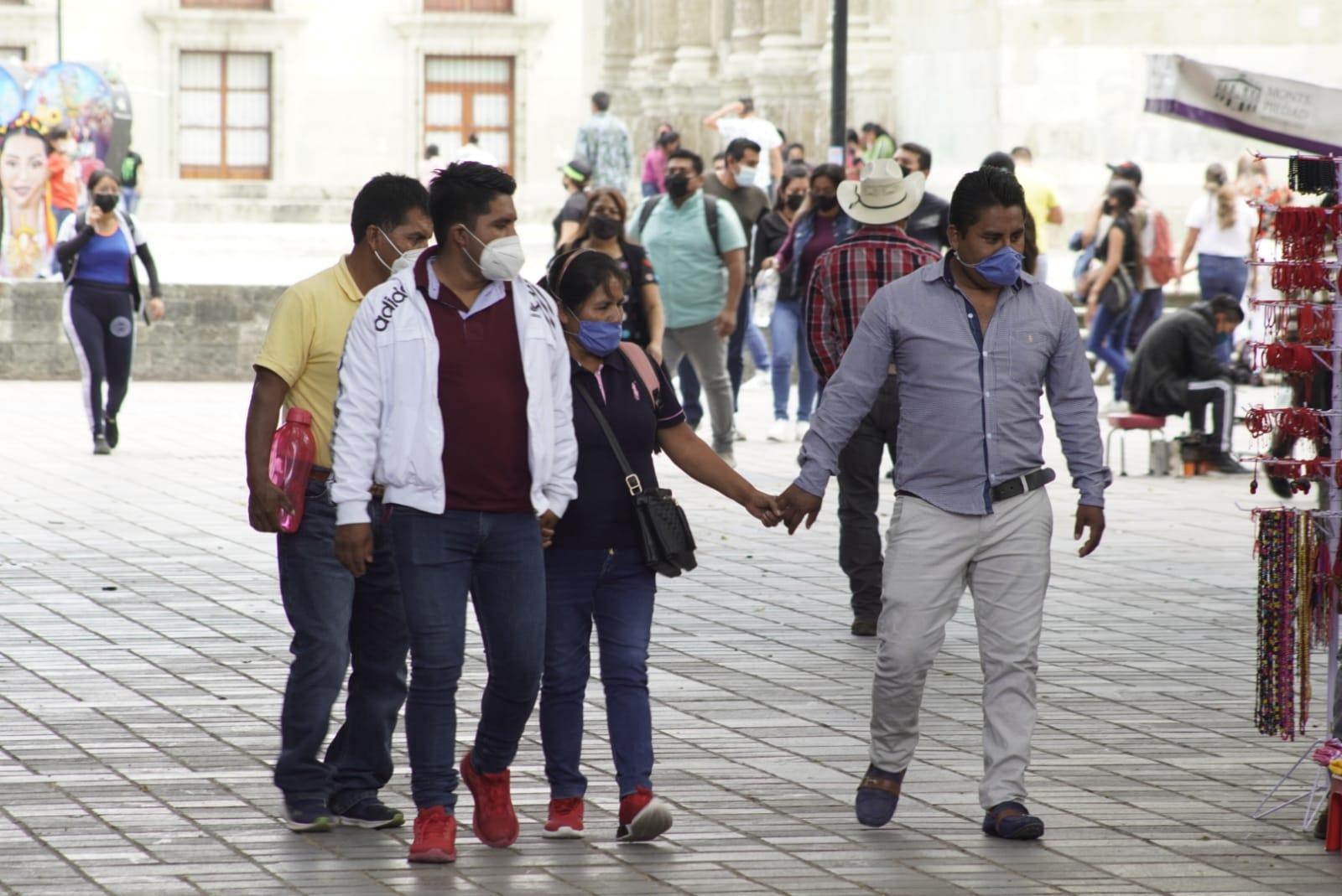 Registran 63 nuevos casos de Covid-19 en Oaxaca; ocupación baja a 47.9%