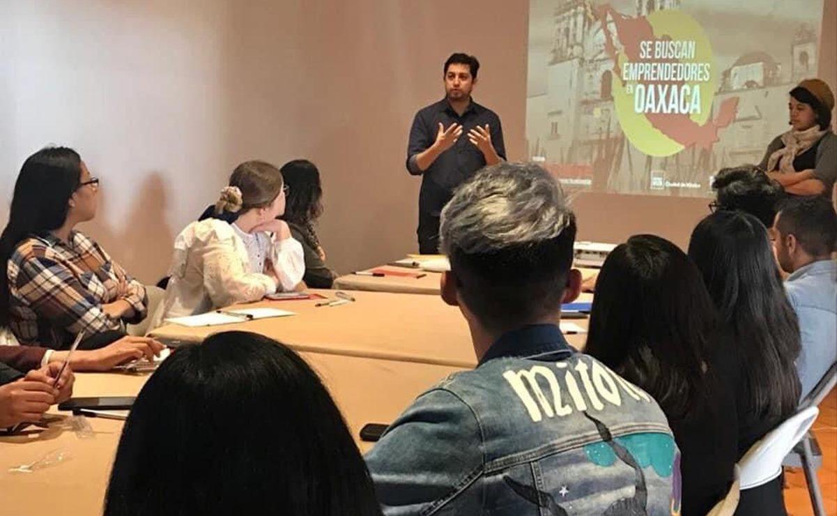 Lanzan convocatoria en Oaxaca para potenciar proyectos de 20 emprendedores; ofrecen apoyo económico