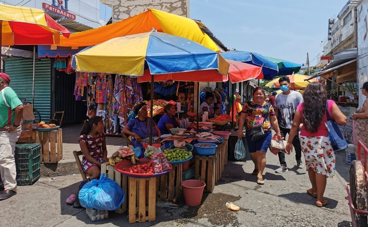 Mantienen a 4 municipios del Istmo de Oaxaca en semáforo rojo por Covid-19