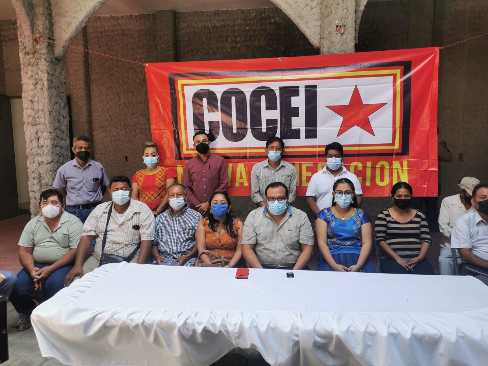 Anuncia Cocei Nueva Generación movilizaciones en Istmo de Oaxaca, ante negativa de gobierno a dialogar
