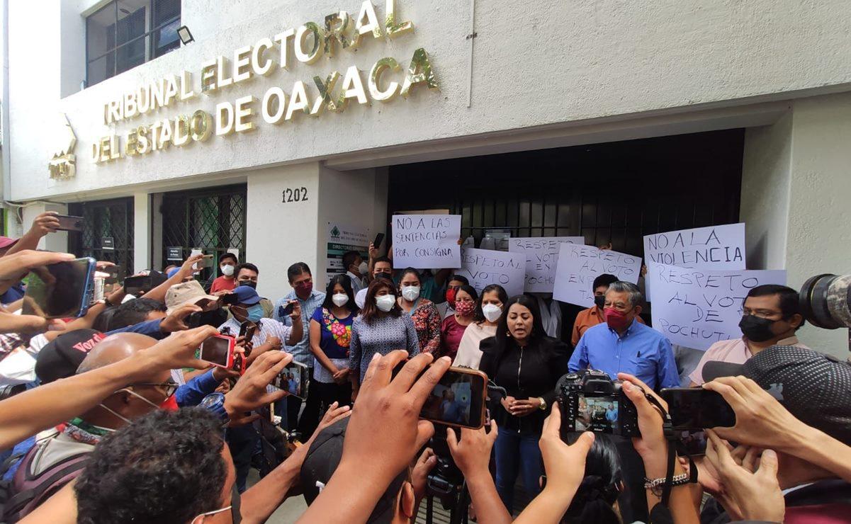 Anula TEEO elecciones en San Pedro Pochutla y Chiltepec; habrá comicios extraordinarios
