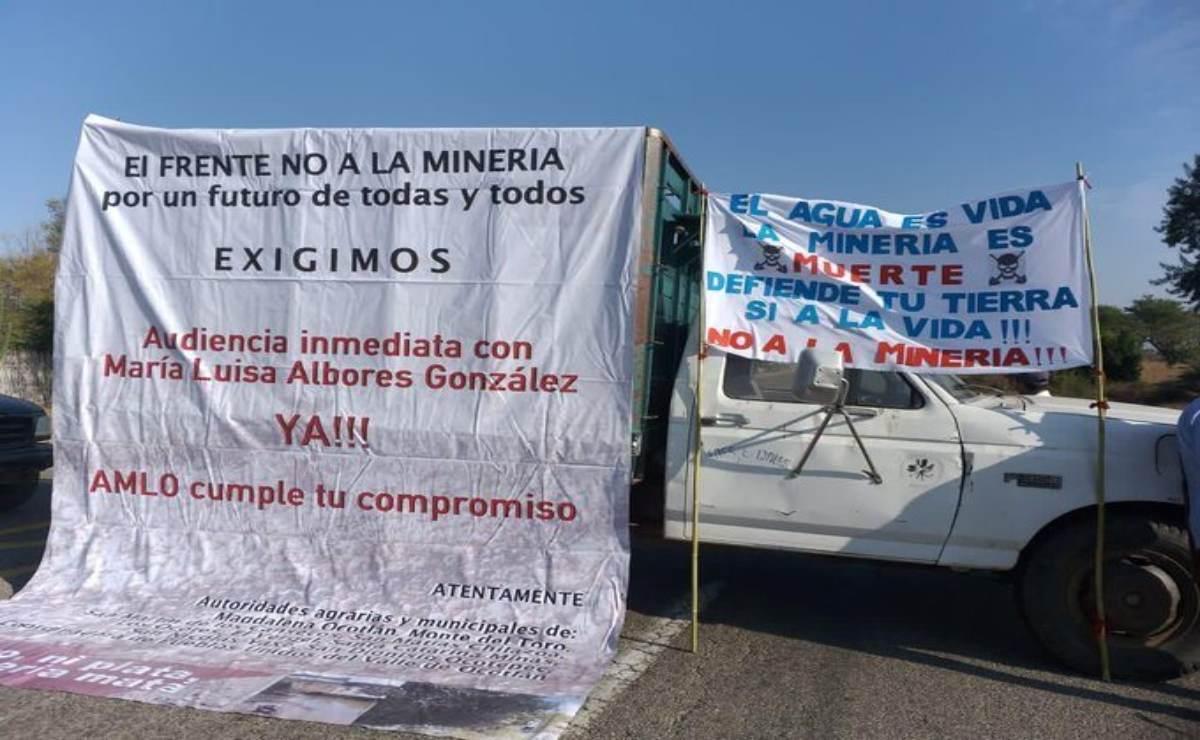 Opositores a Minera Cuzcatlán en Oaxaca exigen audiencia con la Semarnat