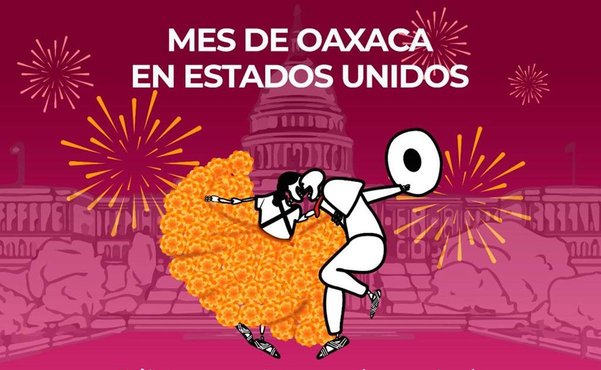 Va Oaxaca por el 'corazón' de Estados Unidos con un mes lleno de arte, comida y familia