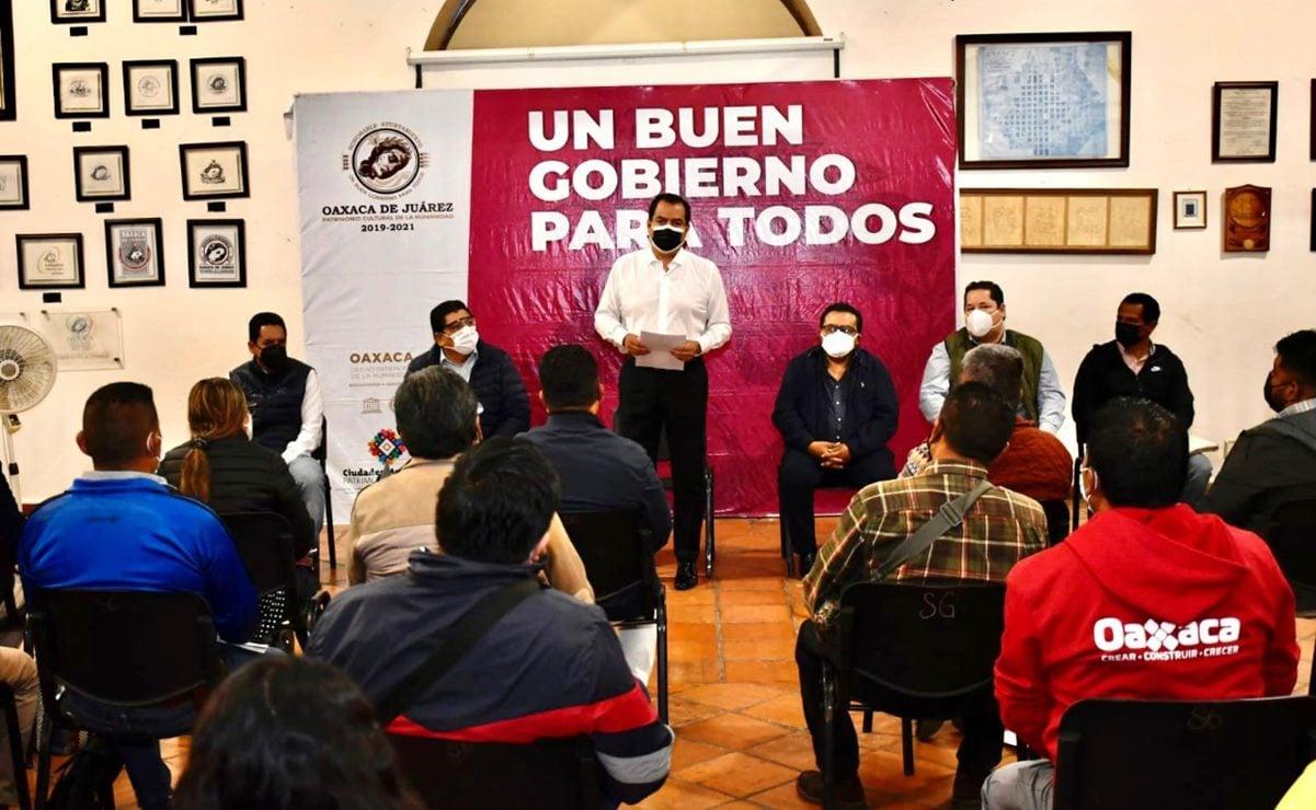 Se lanza el edil Oswaldo García Jarquín por la gubernatura de Oaxaca