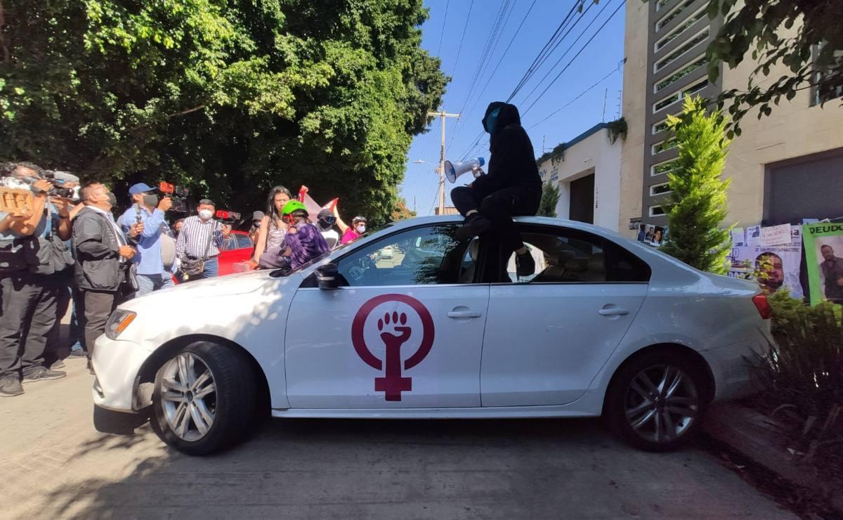 'Sin tintes políticos', acciones de Patrulla Feminista contra deudores alimentarios en Oaxaca, afirman activistas