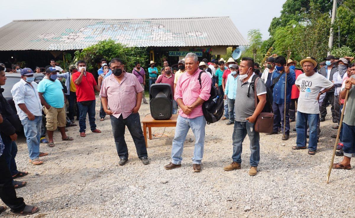 Exigen diputados al gobierno de Oaxaca que garantice retorno de 250 desplazados de San Juan Mazatlán Mixe