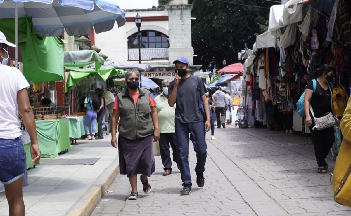 Supera Oaxaca los 80 mil casos positivos de Covid-19 desde que inició la pandemia