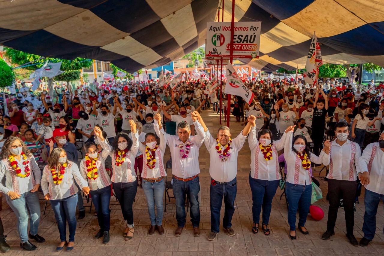 Piden PAN y Panal al TEEO pronunciarse sobre nulidad de elecciones en Mitla, Oaxaca