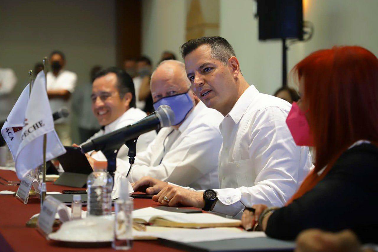 Destaca Murat crecimiento de Oaxaca en sectores estratégicos ante gobernadores del sureste