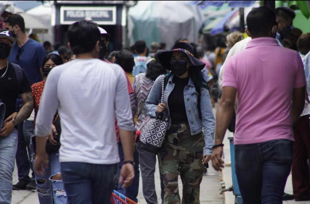 Al menos 100 municipios de Oaxaca reportan contagios activos de Covid-19, suman 546