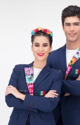 Traje con bordados zapotecos de Oaxaca compite para ser usado por atletas en Juegos Olímpicos Tokio 2021