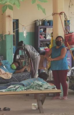 """Tequisistlán, pueblo chontal de Oaxaca que de resistir primeras olas Covid, ahora se """"ahoga"""" en contagios"""