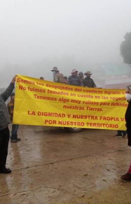 Llaman a evitar represión contra comuneros de Ayutla, pueblo ayuujk de Oaxaca, que defienden sus tierras