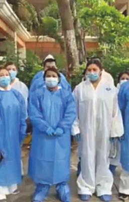 Pese a promesa de AMLO, abandonan a personal de Hospital Insabi de Juchitán de  primera línea Covid