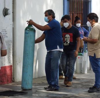 Ante escasez de oxígeno médico, entregará ayuntamiento de Oaxaca de Juárez vales de recarga gratuita