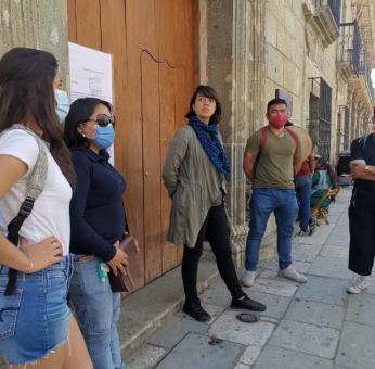 Desalojan por la fuerza a empleados que resguardaban Museo de Arte Contemporáneo de Oaxaca