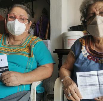 Éxodo: Cansados de la espera, 100 ancianos zapotecos de Oaxaca viajaron hasta Chiapas por vacuna antiCovid-19