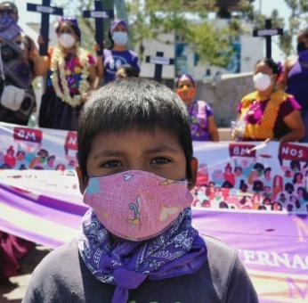 Violencia y abandono: feminicidios en Oaxaca han dejado a 39 niñas y niños huérfanos de 2020 a la fecha