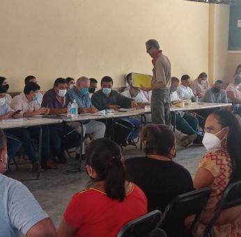 Campesinos de Oaxaca piden formalmente a AMLO ser socios del Interoceánico, para no vender sus tierras