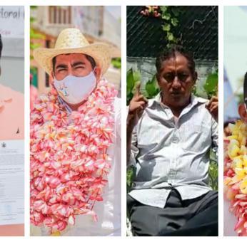 Seis candidatos independientes vencieron la fuerza de los partidos en presidencias municipales en Oaxaca