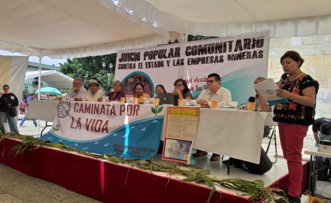 Oaxaca: exigen cancelar concesiones mineras
