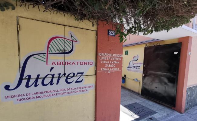 Tras suspensión, Laboratorio Juárez espera permiso federal para aplicar prueba de coronavirus por mil 200 pesos