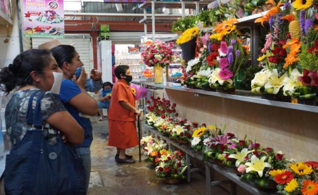 Florerías en Oaxaca viven el peor Día de las Madres en dos décadas