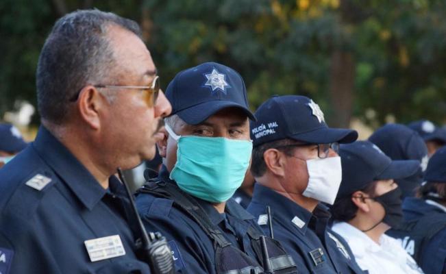 Muere policía capitalino en el IMSS; hay 4 más aislados por males respiratorios